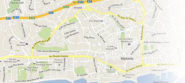 map of marbella